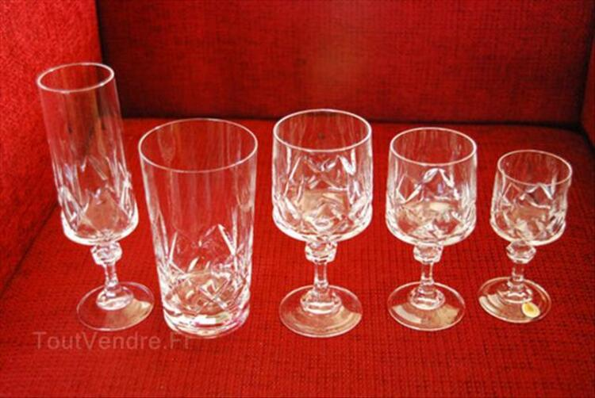 Service de verres en cristal 64521998