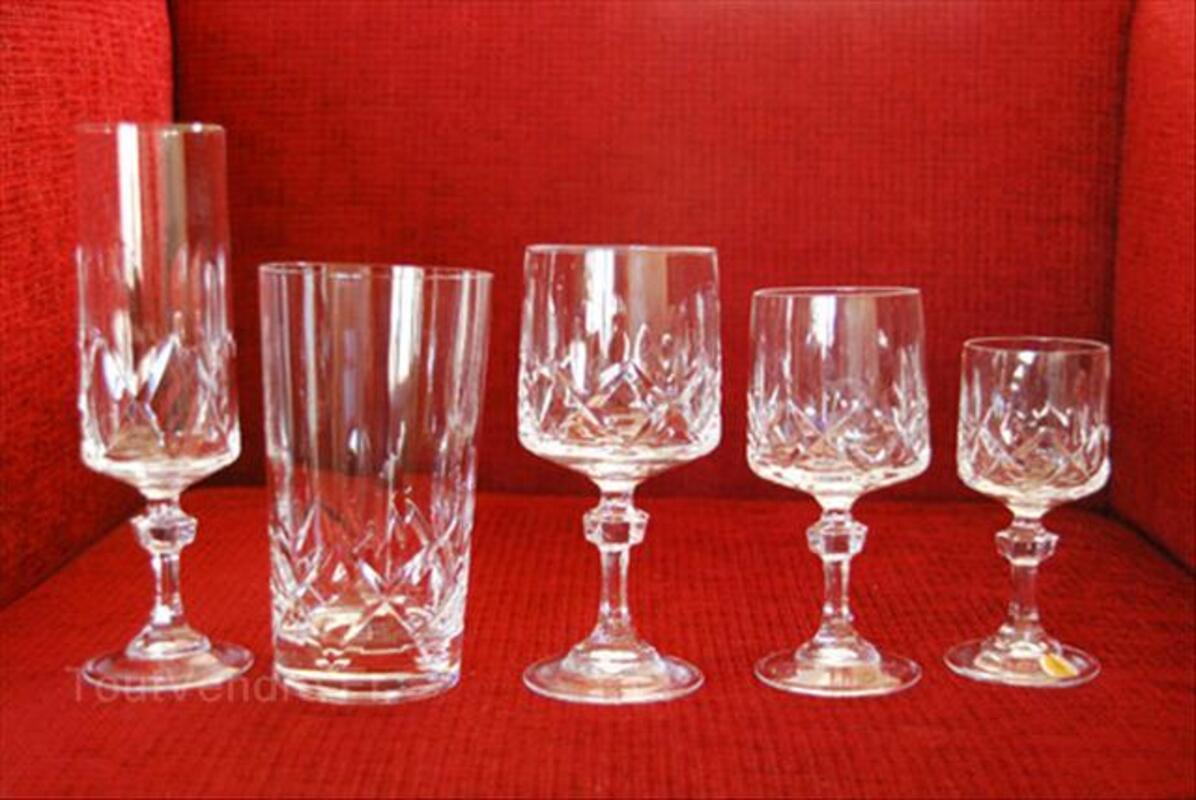 Service de verres en cristal 64521999