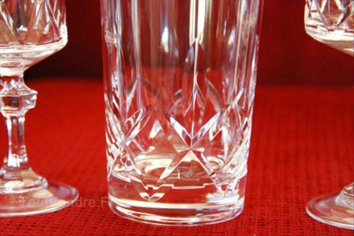 Service de verres en cristal 64522000