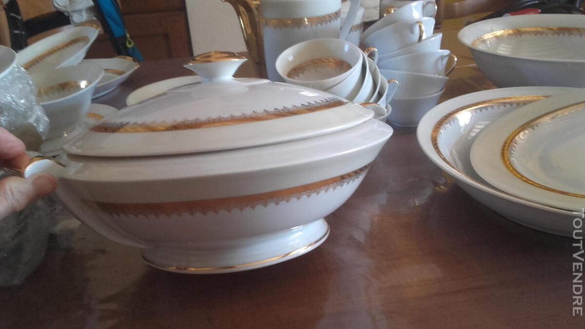 Service en porcelaine années 50 , Ternet Limoges 547258062