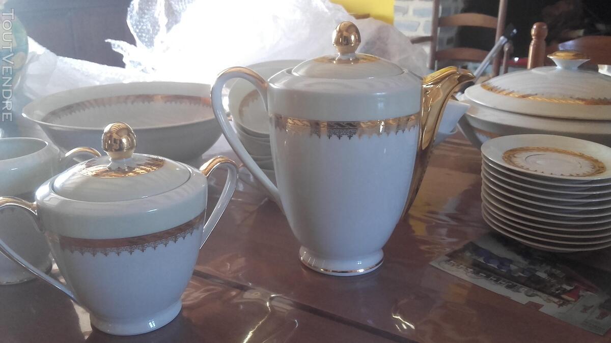 Service en porcelaine années 50 , Ternet Limoges 547260189