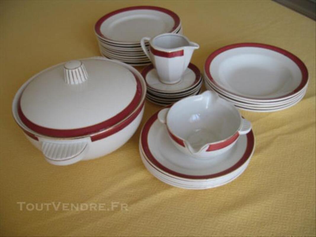 Service en porcelaine BADONVILLER 77564116