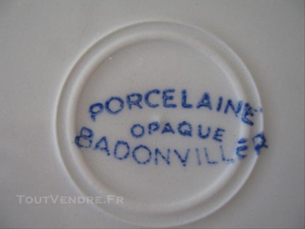 Service en porcelaine BADONVILLER 77564118