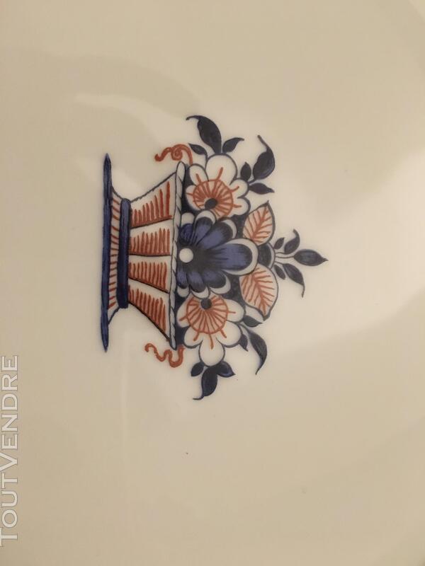 """Service en Porcelaine de Limoges """"Vieux Rouen"""" signé Coquet 330020987"""