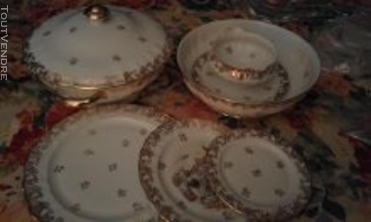Service porcelaine de limoge 124623005