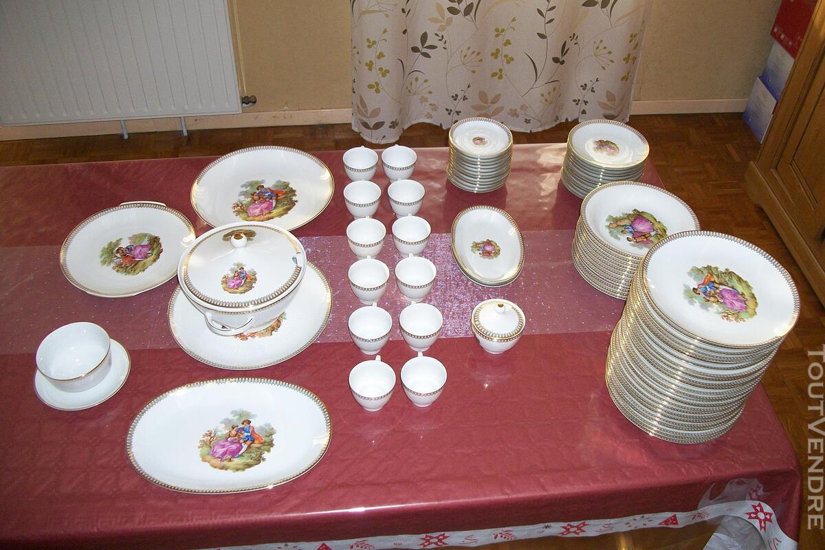Service porcelaine Mitterteich bavaria - motifs Fragonard 151752460
