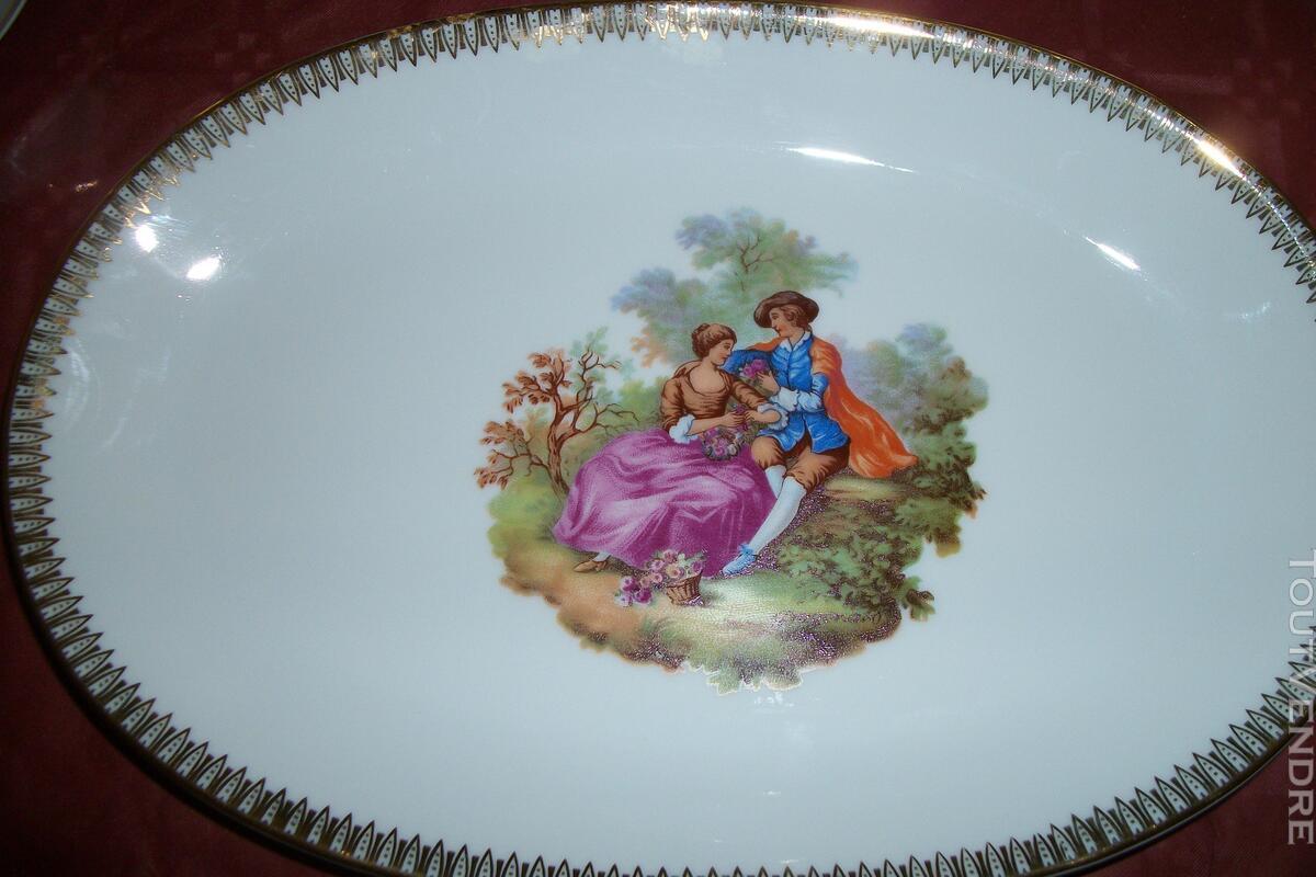 Service porcelaine Mitterteich bavaria - motifs Fragonard 151752688