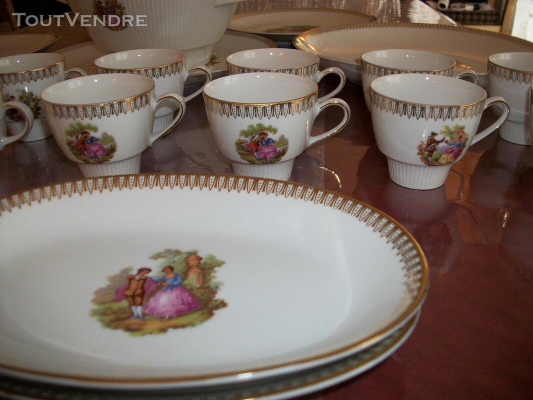 Service porcelaine Mitterteich bavaria - motifs Fragonard 151753129