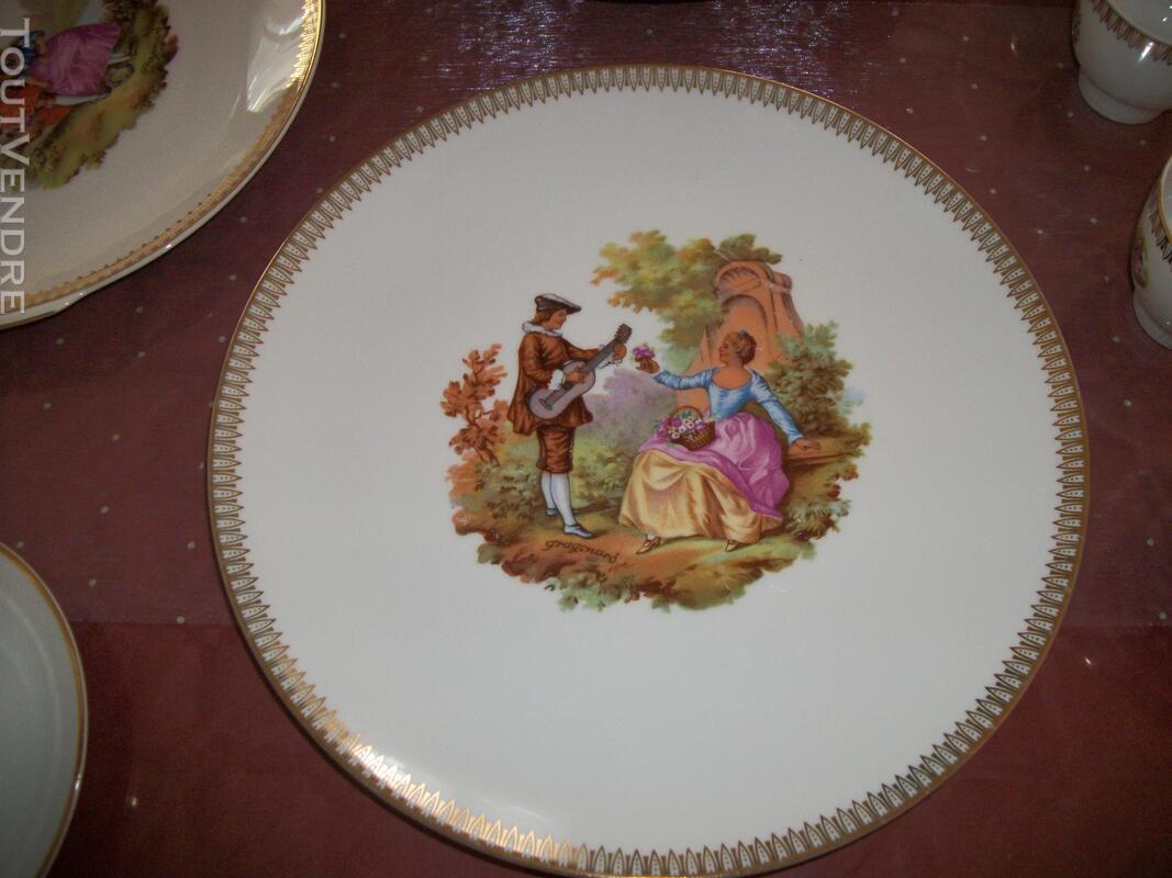 Service porcelaine Mitterteich bavaria - motifs Fragonard 151753267