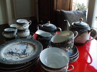Service Vaisselle Porcelaine Chinoise