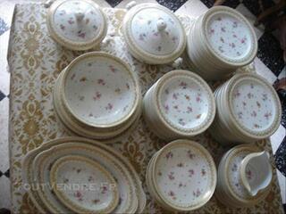 Service vaisselle Porcelaine de Limoges RAYNAUD