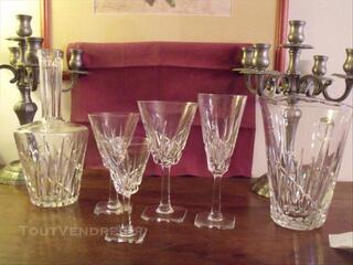Service verres cristal