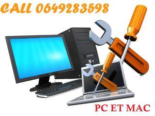 Services et Dépannages en Informatiques PC et MAC