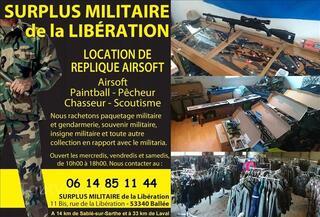 Shop Airsoft en Mayenne (53340 Ballée)