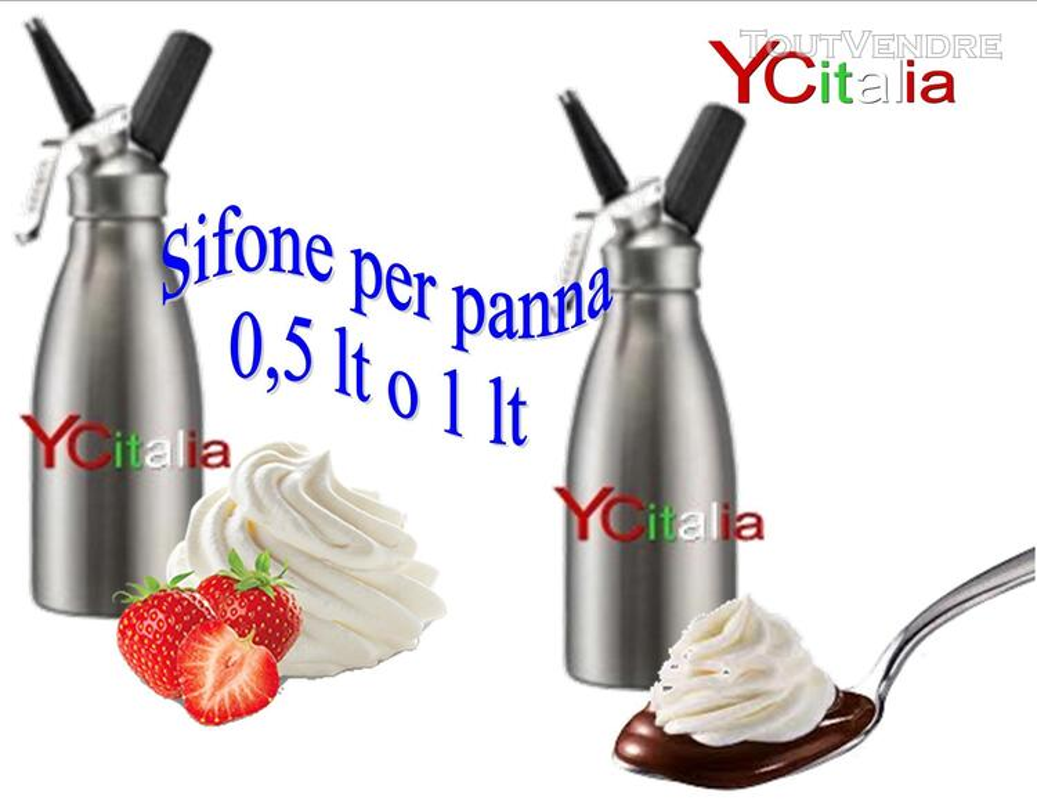 Siphon pour crème 1 litre 323066101