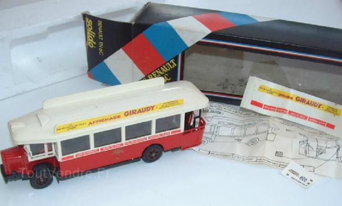 Solido Renault Autobus Lyonnais 91404439