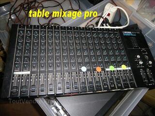 SONORISATION HP tablle mixage