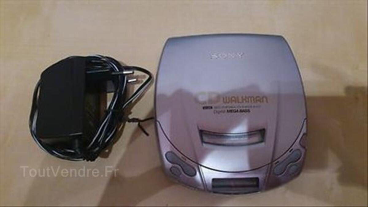 Sony CD Walkman D-C21 - Lecteur CD portable - Mega-bass 71321987