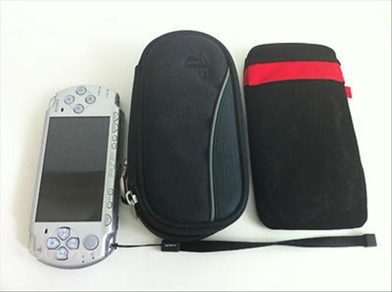 SONY PSP-2004is SLIM/LITE ICE SILVER compléte +etui+ HO 76616347