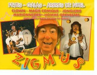 """Spectacle """"Clown Magie Marionnettes et Homme orchestre"""""""