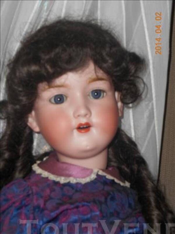 Splendide poupée ancienne Armand Marseille 390 de 80 cm 86663085