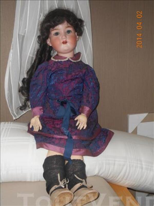 Splendide poupée ancienne Armand Marseille 390 de 80 cm 86663110