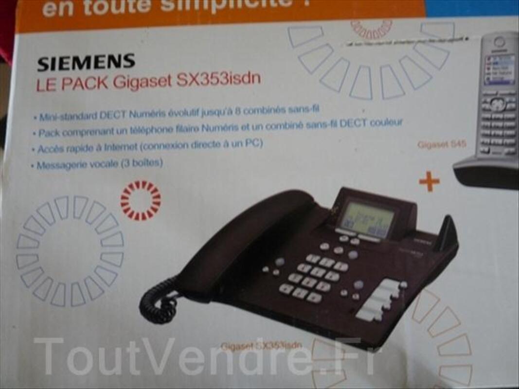 Standard SIEMENS DECT Numéris Gigaset SX353isdn + 2port 54532301