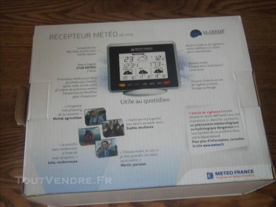 Station meteo  LACROSSE TECHNOLOGIE 74022711