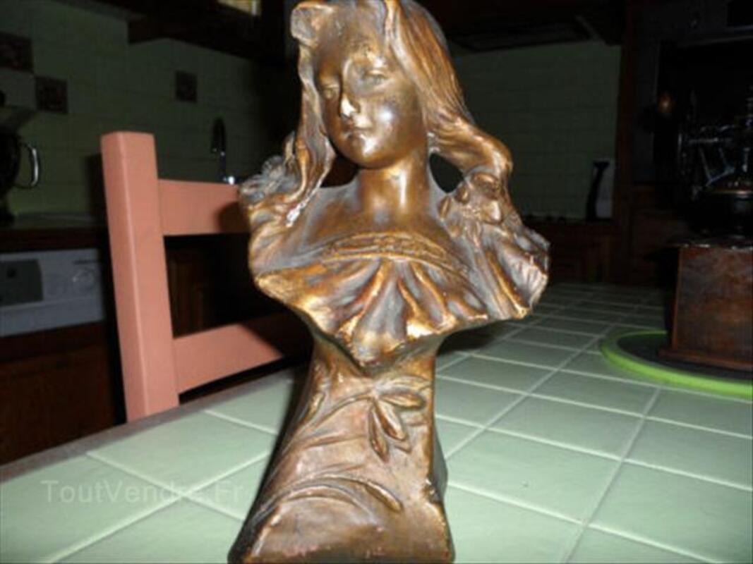 Statuette buste de femme HABOCK 56472714