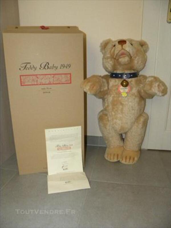 STEIFF RARE TEDDY BABY 1949 75cm 77279669