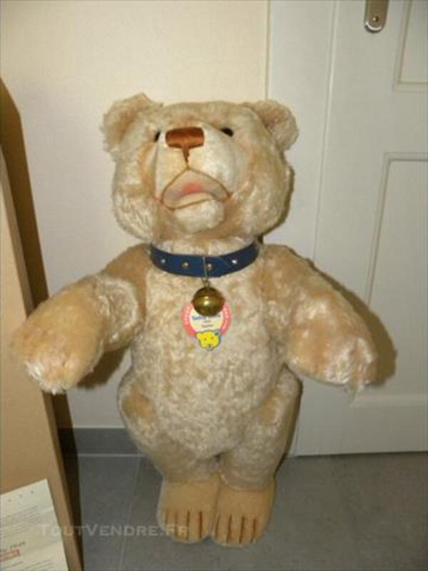 STEIFF RARE TEDDY BABY 1949 75cm 77279670