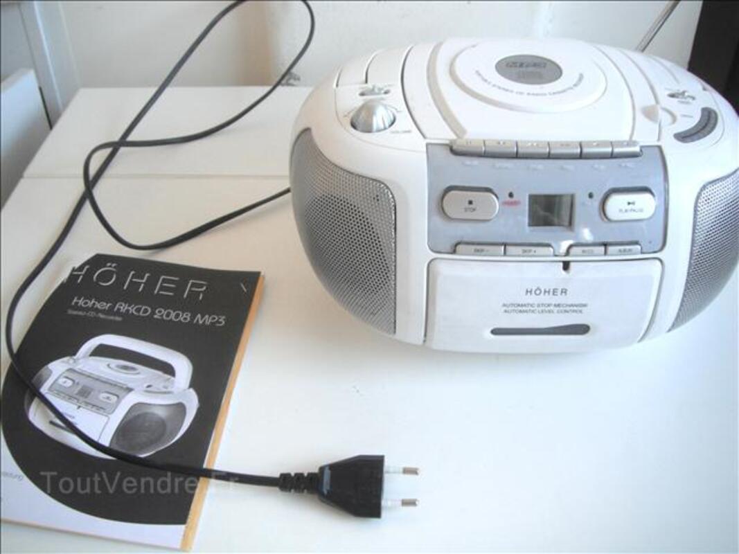 STEREO-CD/MP3CASSETTES-RECORDER (FNAC) PRIX 10€- 45258966
