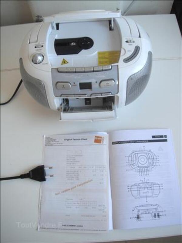 STEREO-CD/MP3CASSETTES-RECORDER (FNAC) PRIX 10€- 45258967