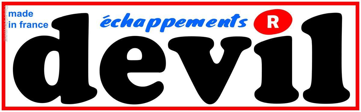 Sticker 'DEVIL' échappement 118882023