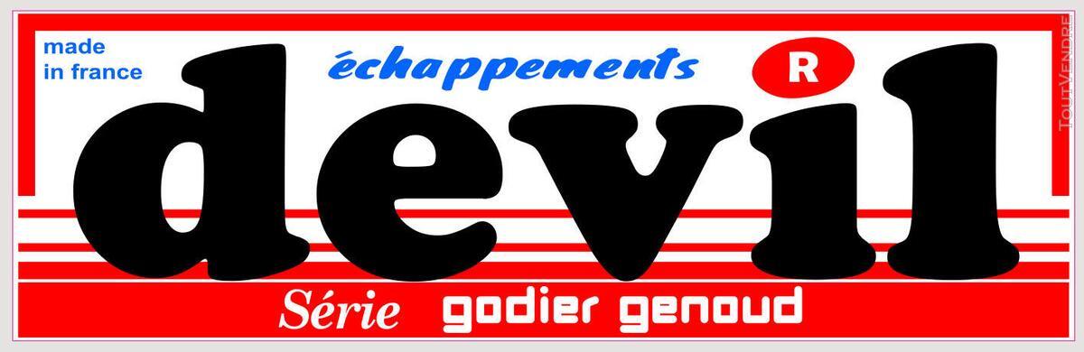 Sticker 'DEVIL' échappement 612619411