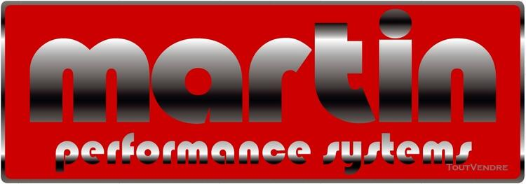 Sticker logo 'MARTIN performance systems' échappement 118882020