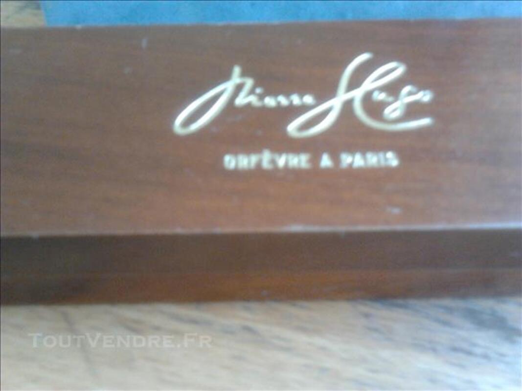 Stylo plume Hugo(plaqué or pointe pur or 2 saphirs aux éxtré 81393363