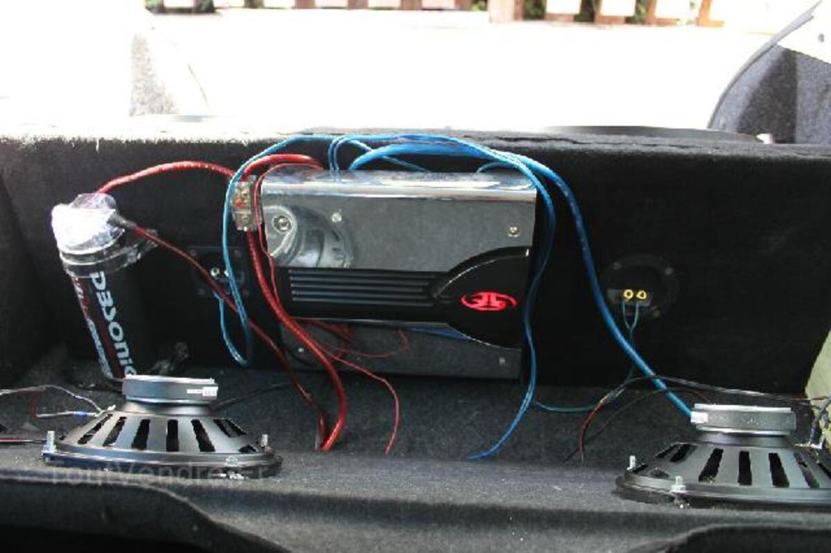 Subwoofer O2, Ampli et Condensateur 91498132