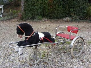 Sulky à pedales