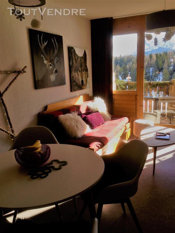Super Dévoluy Douillet T2 de 31 m² terrasse plein Sud 05250 337391557