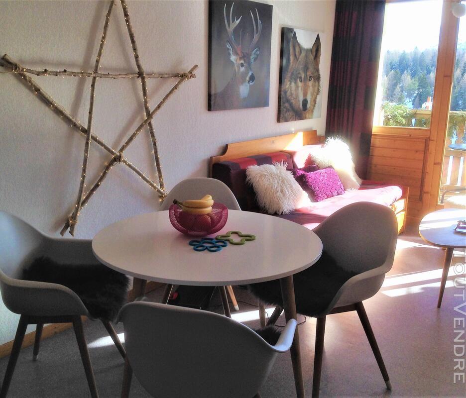Super Dévoluy Douillet T2 de 31 m² terrasse plein Sud 05250 337391563