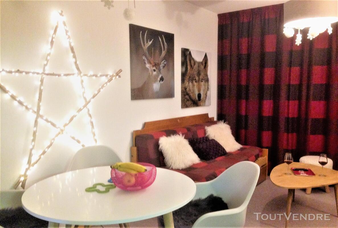 Super Dévoluy Douillet T2 de 31 m² terrasse plein Sud 05250 337391578