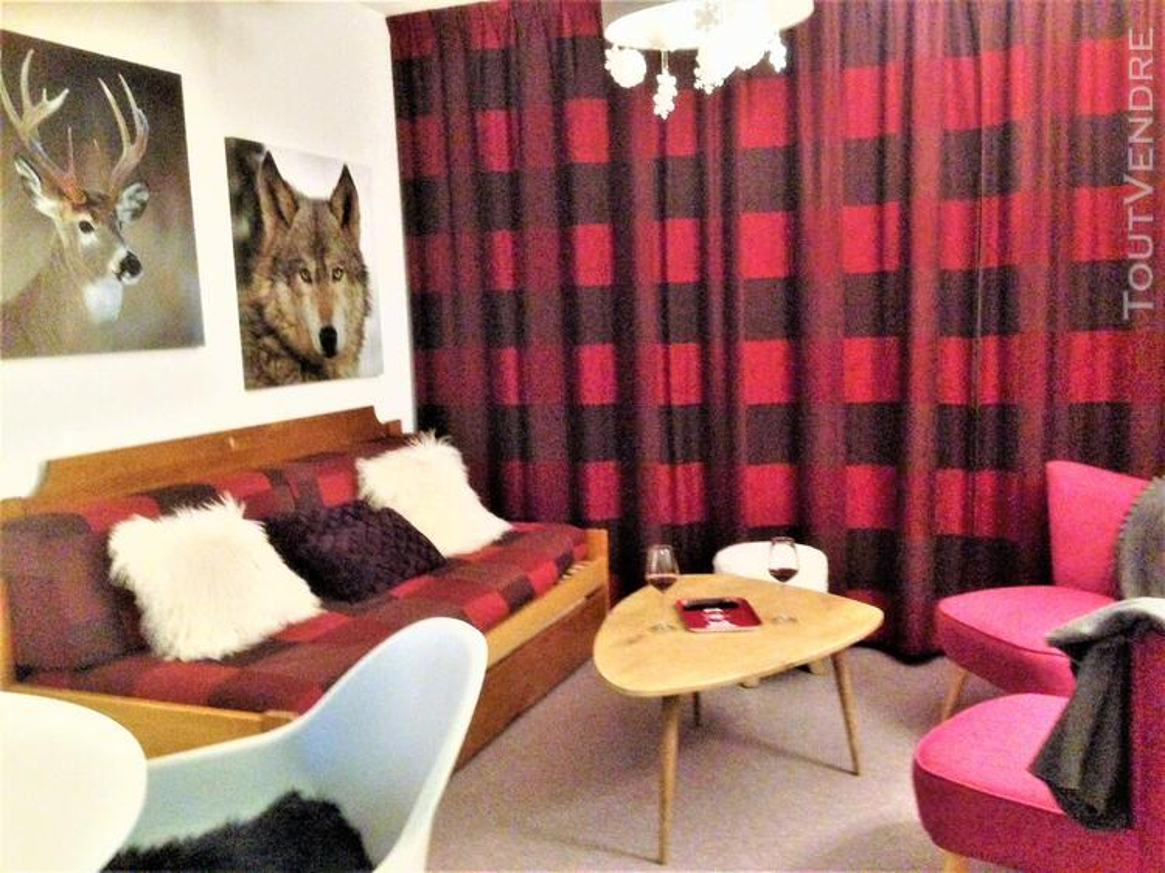 Super Dévoluy Douillet T2 de 31 m² terrasse plein Sud 05250 337391584