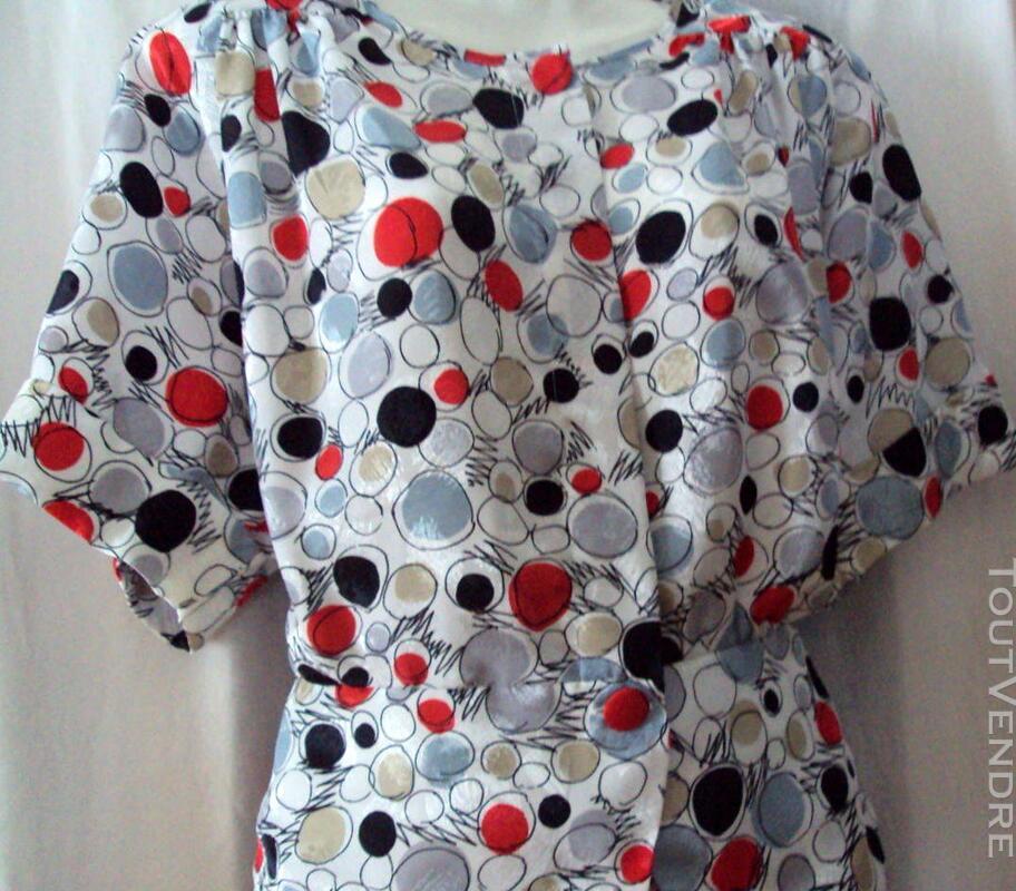 Super jupe & veste  blanc rouge noir 44 246381189