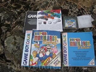 SUPER MARIO BROS DELUXE   jeu    Game Boy Color  boite