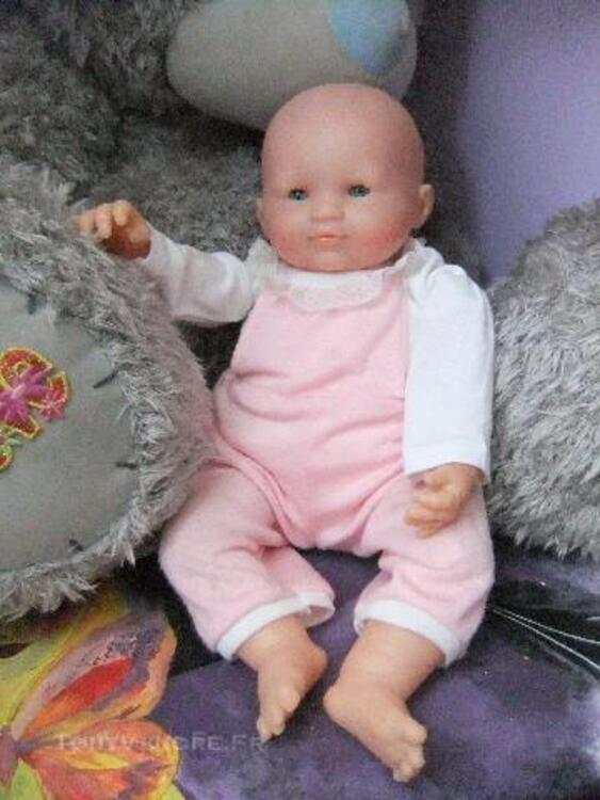 Superbe bébé Corolle  bébé sourire rose 42 cm   1992 44274359