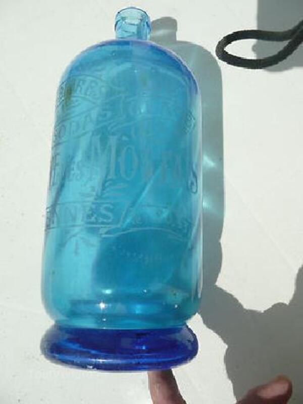 Superbe bouteille ancienne, rennes, usine des mottais 90443298