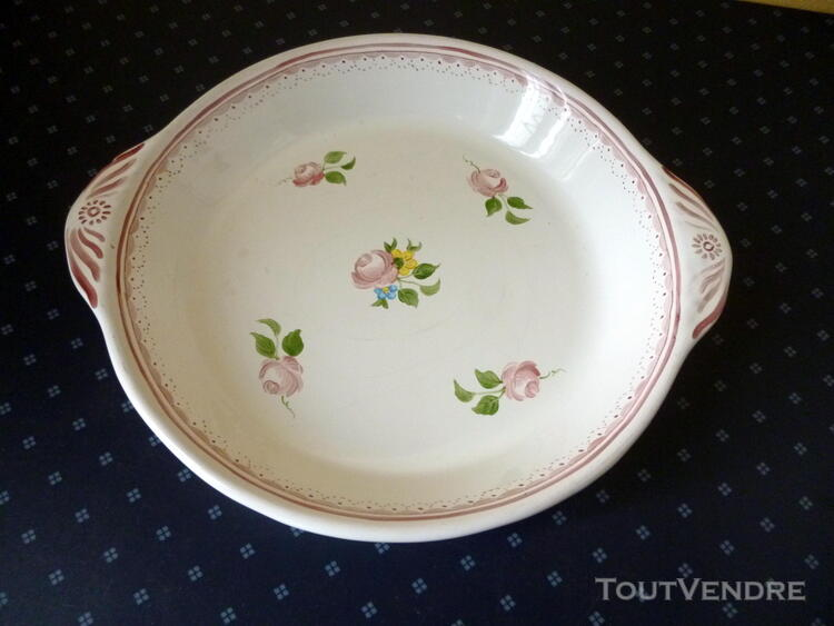 SUPERBE GRAND PLAT de LA FAIENCERIE de VARAGES 1999 179303399