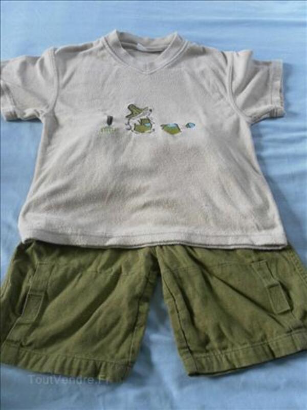 Superbe lot de vêtements garçon 5-7 ans 71307739