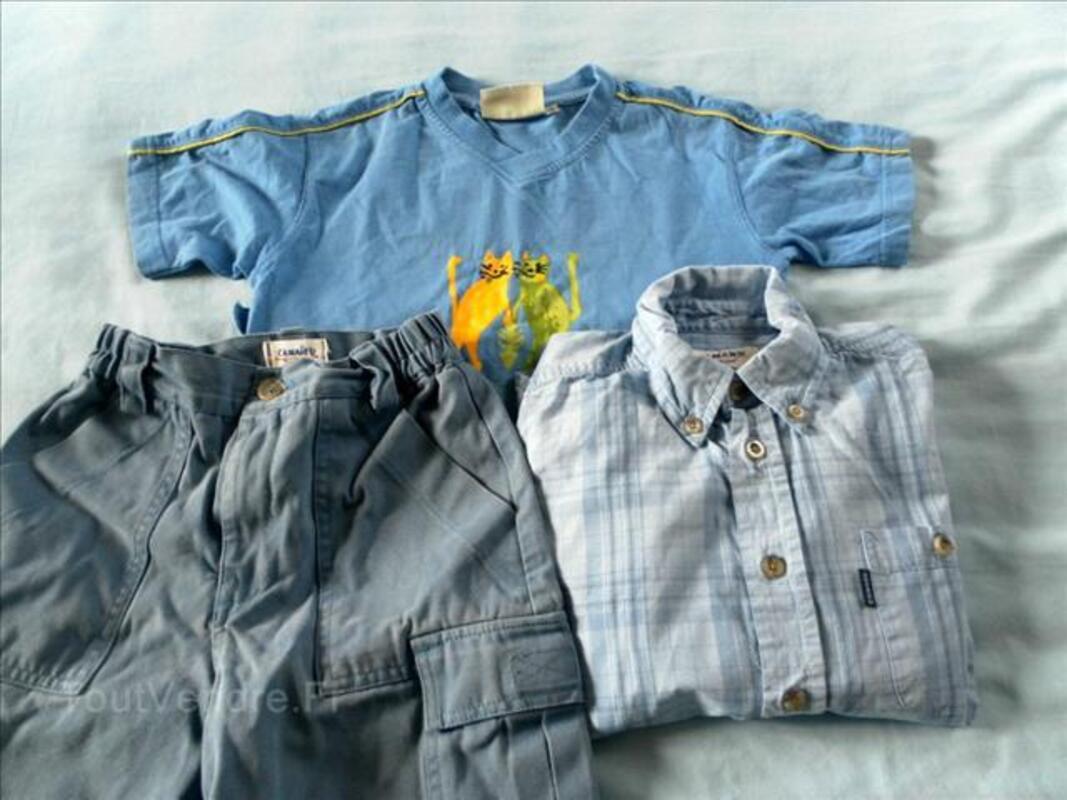 Superbe lot de vêtements garçon 5-7 ans 71307740